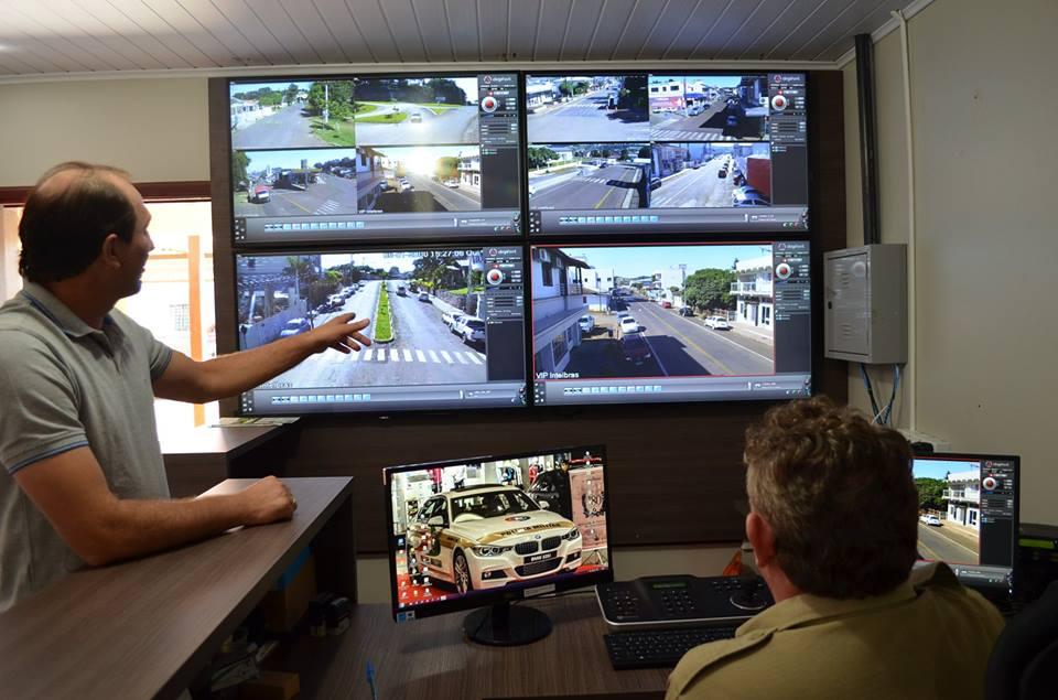 Câmeras de videomonitoramento entram em funcionamento em Guaraciaba