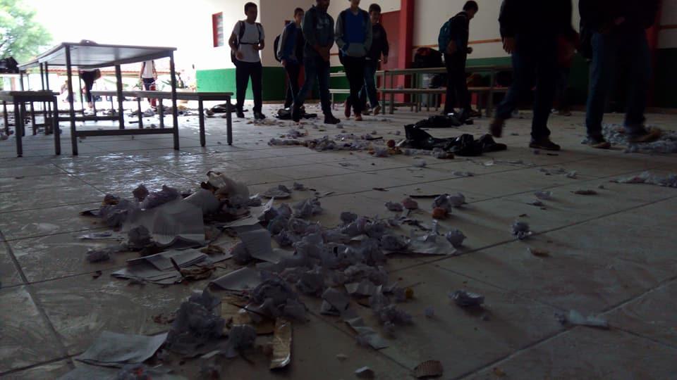Escola estadual de Princesa cancela aulas devido atos de vandalismo