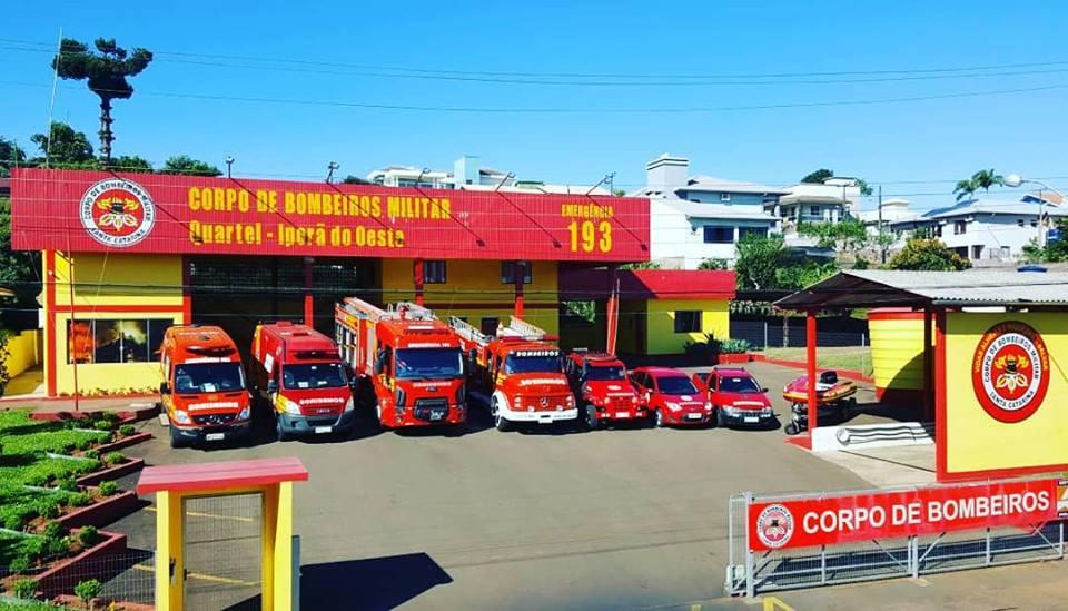 Corpo de Bombeiros de Iporã do Oeste inicia 6ª turma de bombeiros comunitários