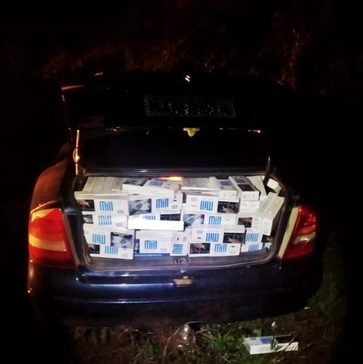 Cerca de 400 pacotes de cigarro contrabandeado é apreendido pela Polícia