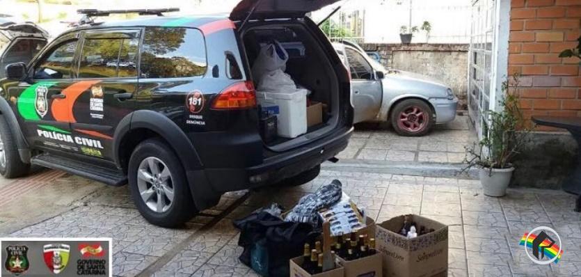 Polícia Civil conclui inquérito sobre os furtos na região