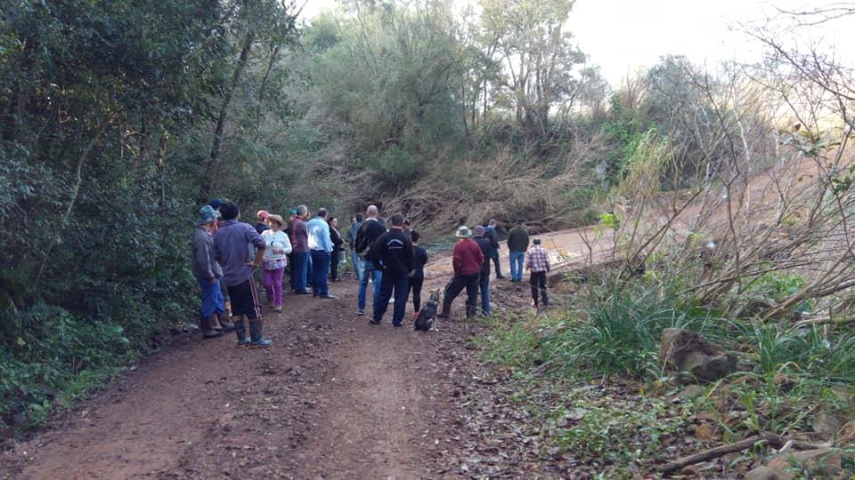 Ponte que liga Princesa a Dionísio Cerqueira é tema de reunião com a comunidade