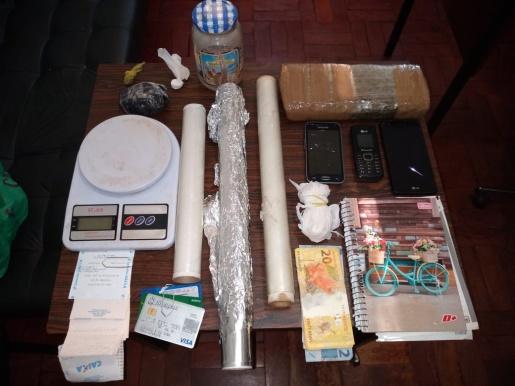Polícia do RS prende quatro pessoas por tráfico de drogas
