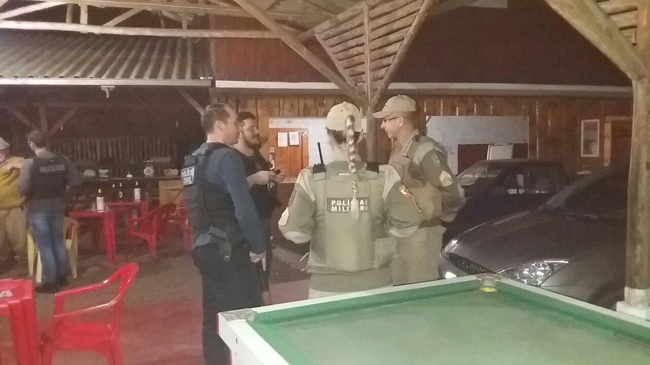 Polícia Militar, Corpo de Bombeiros Militar e Polícia Civil deflagraram a Operação Integração