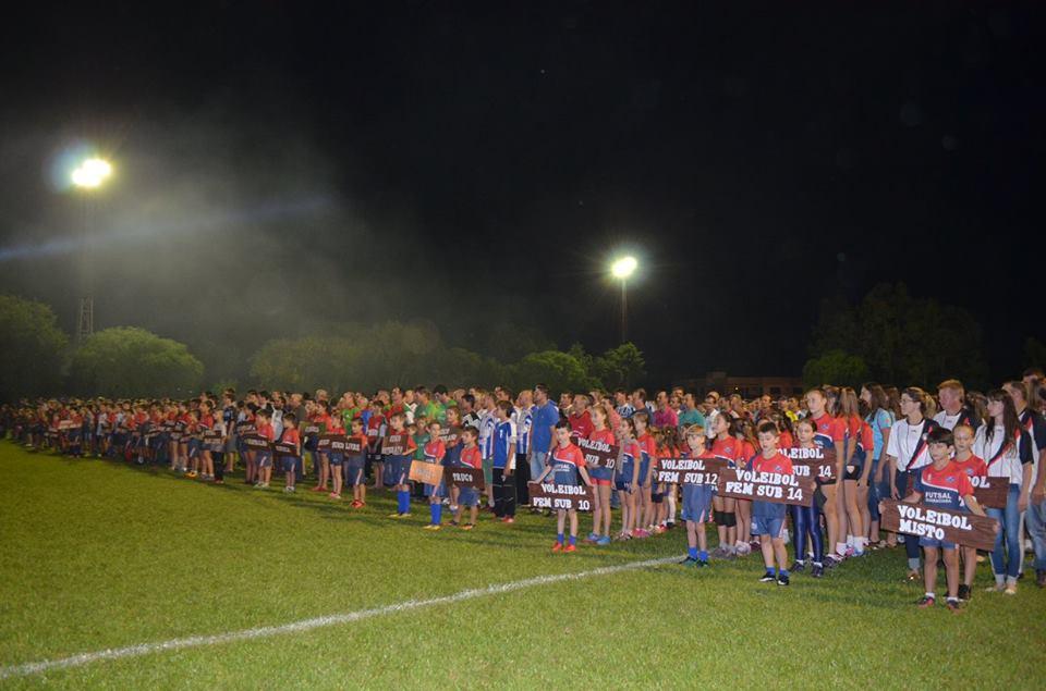 Mais de mil pessoas participam da Abertura dos Jogos Abertos 2018