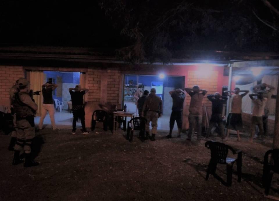 Polícia Militar faz Operação Varredura