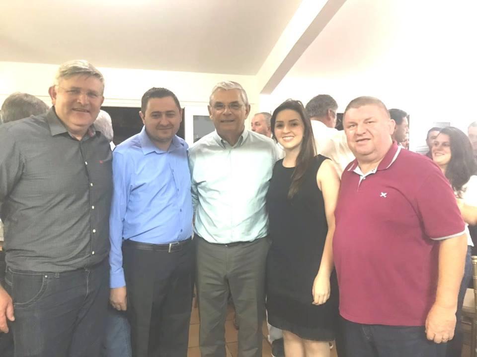 Prefeito e vice de Princesa se reúnem com Governador em Florianópolis