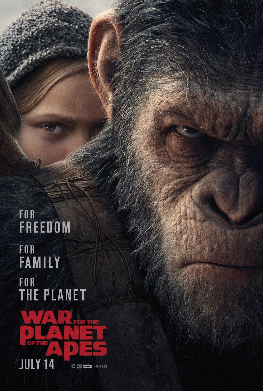Planeta dos Macacos: A Guerra - 3D | 03/08/17