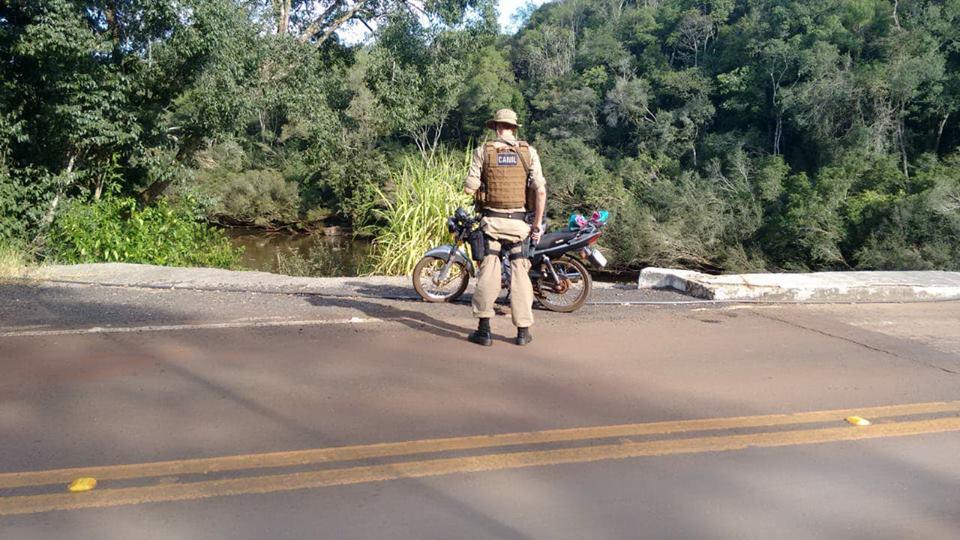 Policia Militar realiza operação com Canil Setorial na região de fronteira