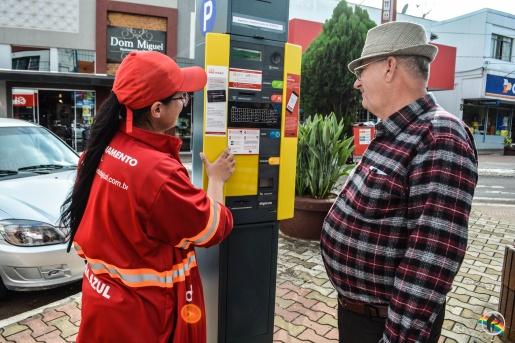 Estacionamento Rotativo arrecada R$ 32 mil em uma semana