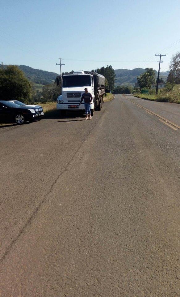 Motoristas realizam paralisação em Romelândia
