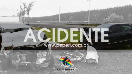 Motociclista sofre ferimentos em acidente no interior