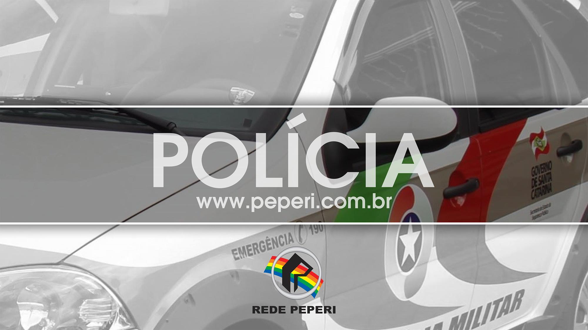 Homem é preso ao tentar furtar em clube comunitário em São José do Cedro