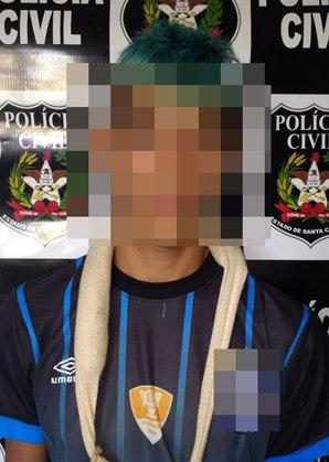 Rapaz envolvido com tráfico de drogas é indiciado e preso pela DIC de São Miguel do Oeste