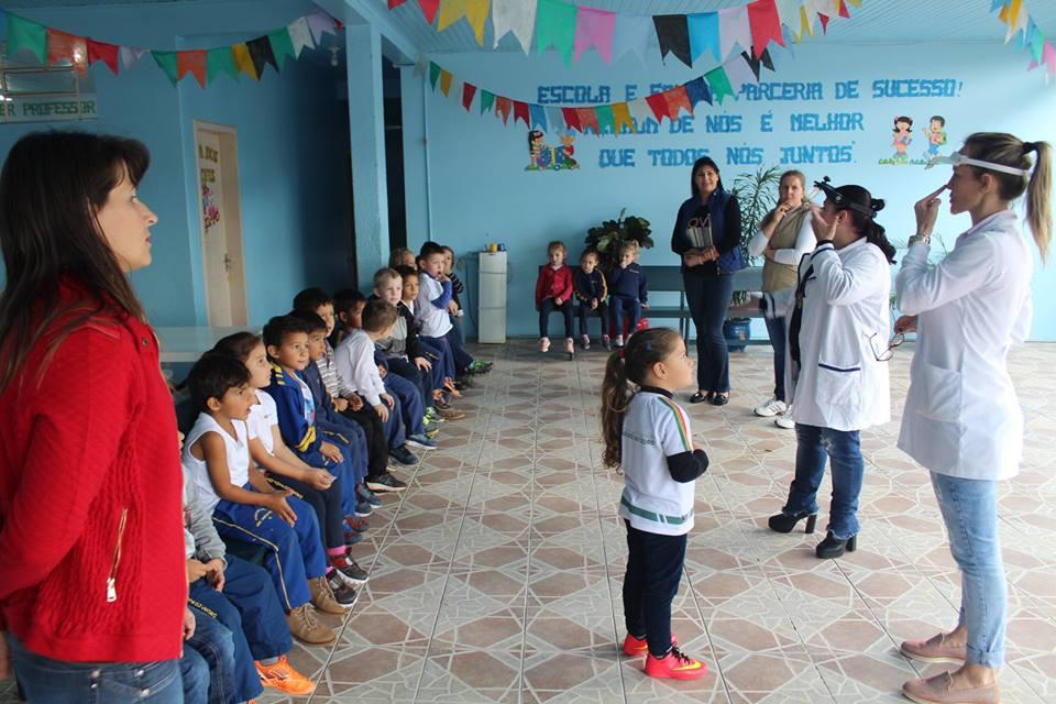 Campanha do tracoma, hanseníase e verminose encerra nas escolas de São José do Cedro