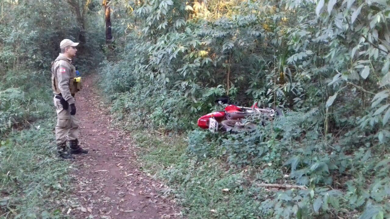 Homem é preso por furto de motocicleta em São Miguel do Oeste