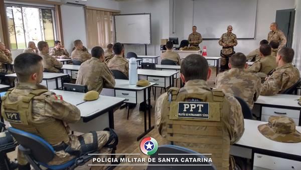 Polícia Militar realiza treinamento integrado em São Miguel do Oeste