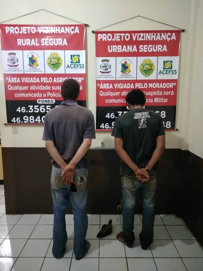 Polícia recupera mercadorias de furto e prende autores
