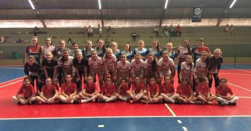 Futsal Feminino de Guaraciaba tem duas vitórias e um empate em campeonato regional