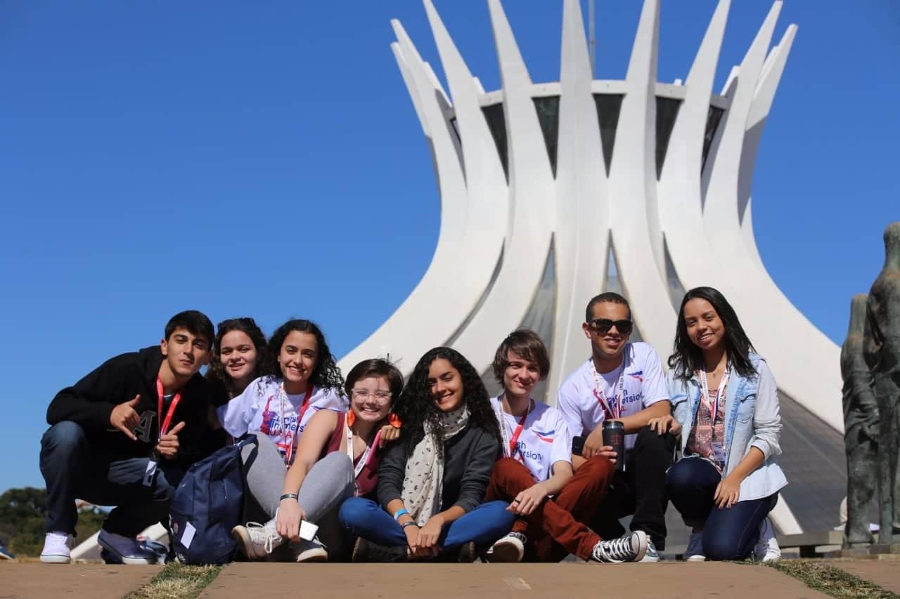 Jovem de Iporã do Oeste participa de semana de imersão da cultura norte americana em Brasília