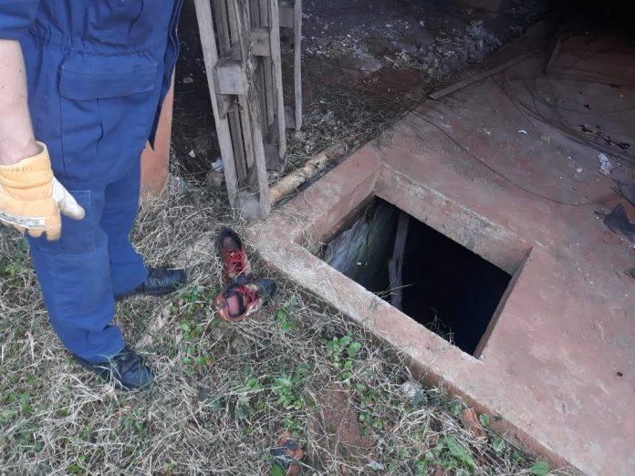 Homem cai em buraco e é encontrado cerca de 10 horas depois em Chapecó