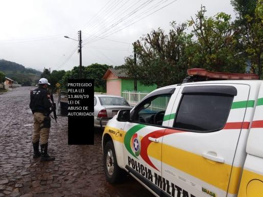 Homem condenado por estupro e estelionato é abordado e preso pela PMR na SC 283 em Riqueza
