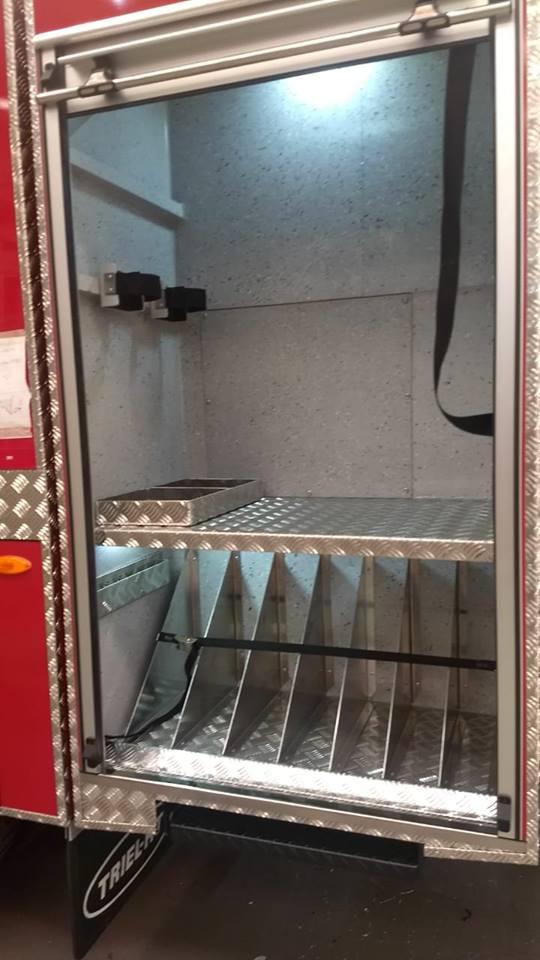 Caminhão novo já está à disposição para uso dos bombeiros em Campo Erê