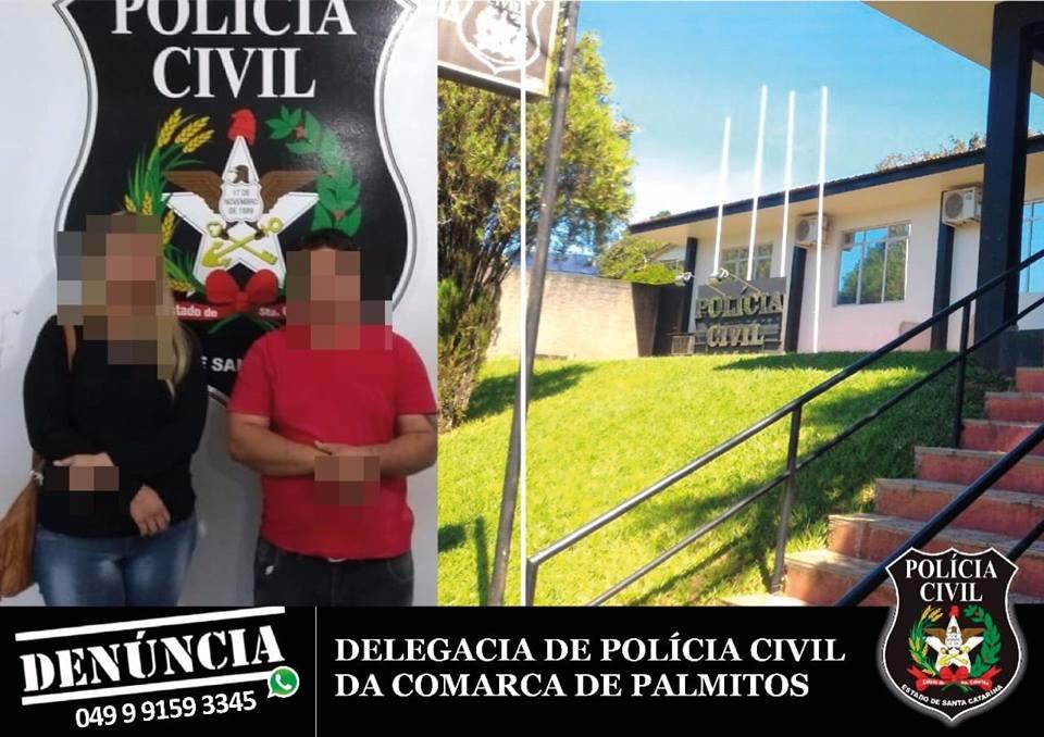Casal do RS apresenta atestado de residência falso e é preso por falsidade ideológica