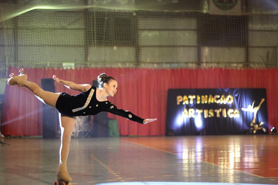 Intercâmbio de patinação lota ginásio em São José do Cedro