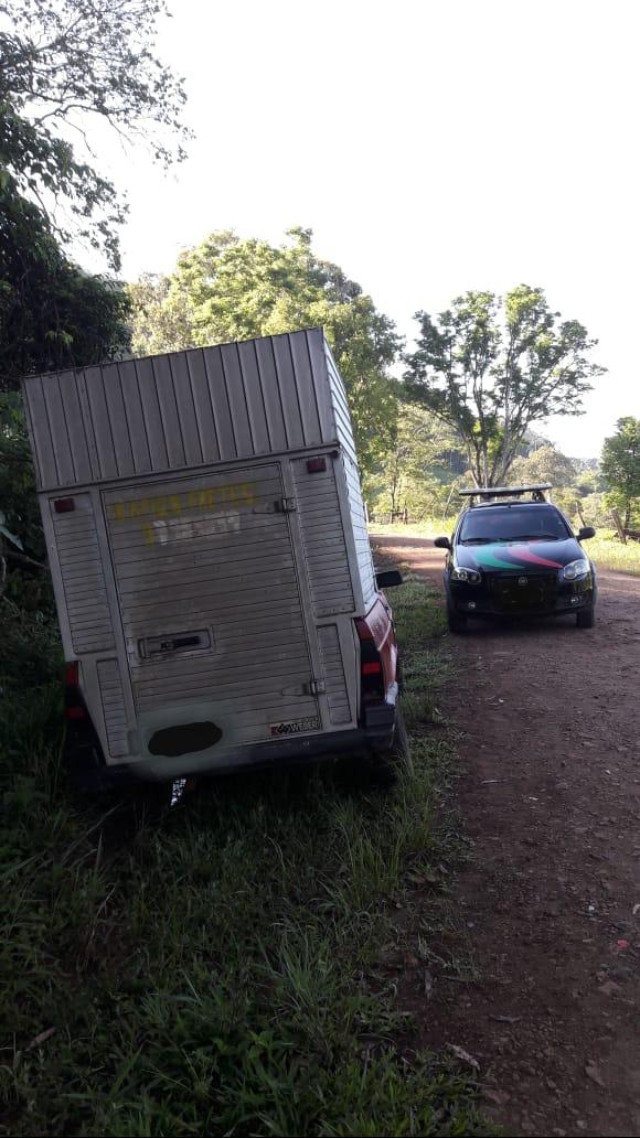 Polícia Civil de Riqueza recupera veículo furtado na região