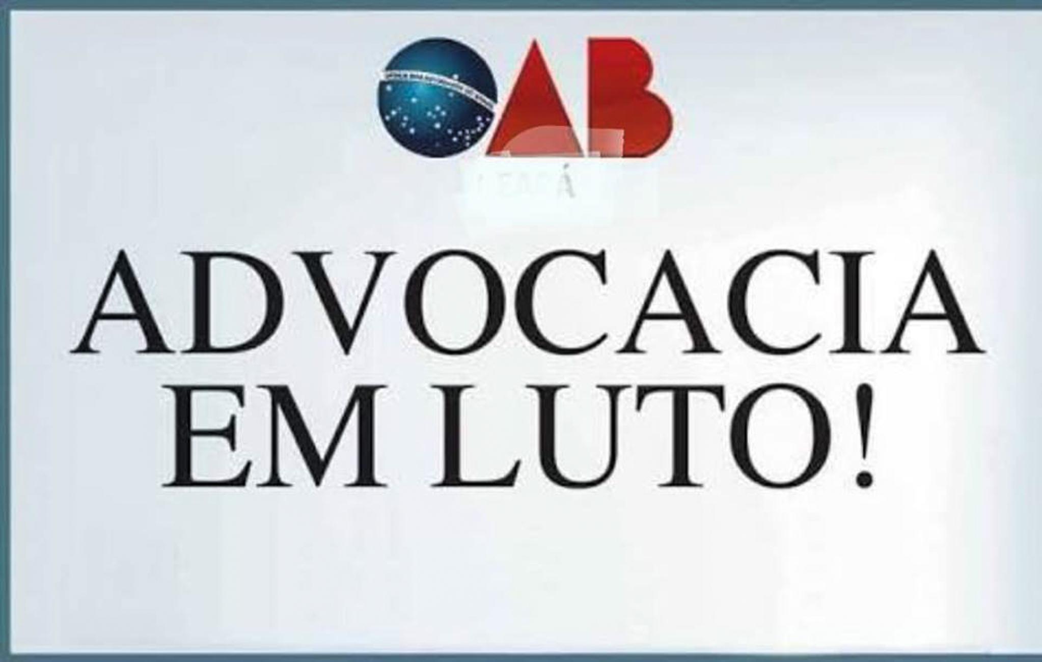 OAB decreta luto oficial de três dias após assassinato de advogado