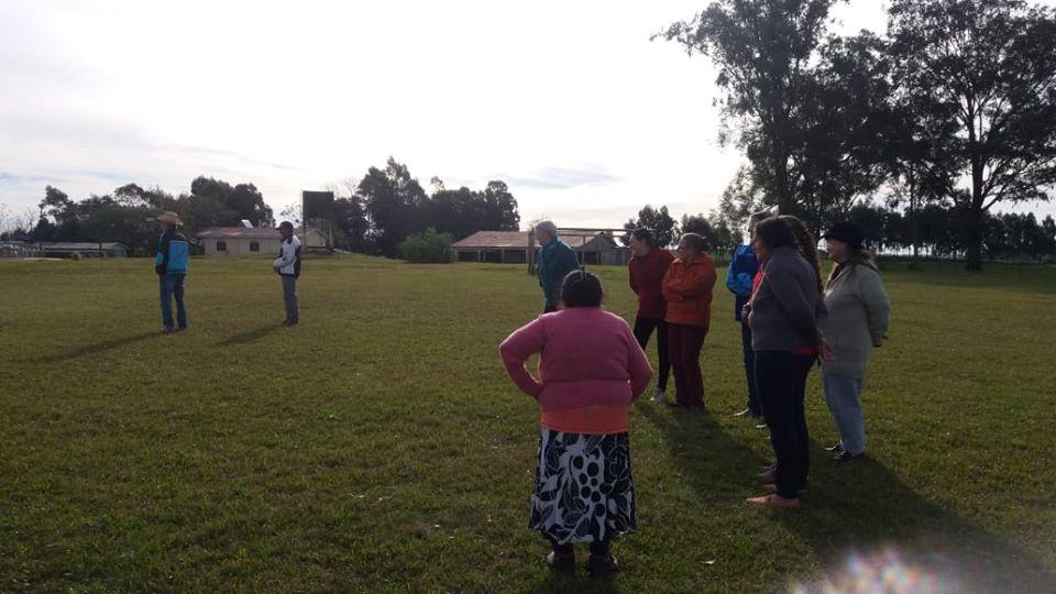Atividades físicas mobilizam 130 idosos de Palma Sola