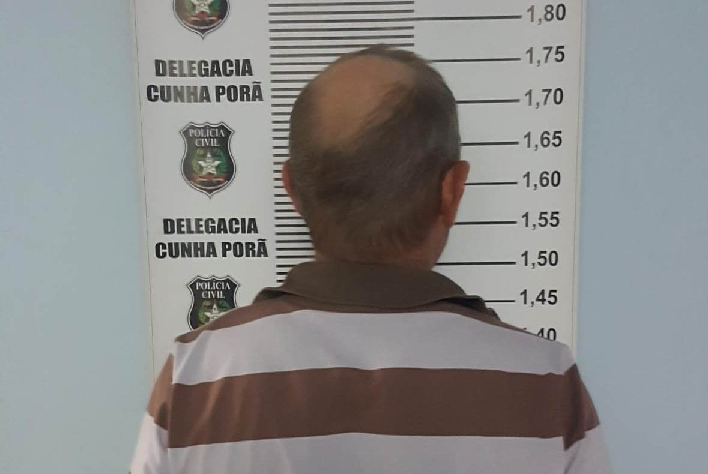 Autor de violência doméstica é preso em flagrante em Cunha Porã