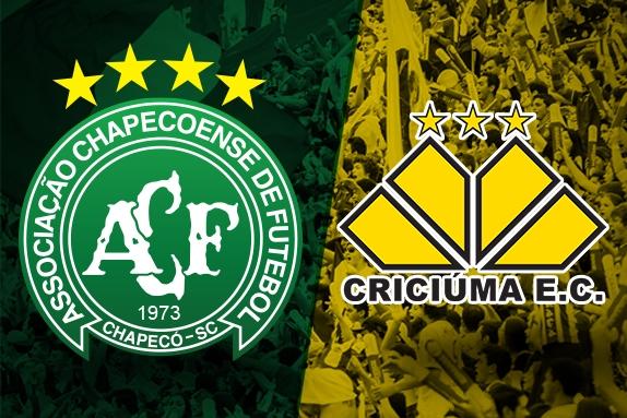 Chapecoense enfrenta o Criciúma com transmissão da Peperi