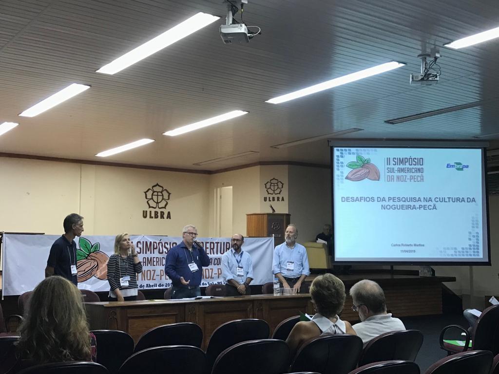 Gerente da Epagri participa de simpósio internacional sobre Nóz Pecã