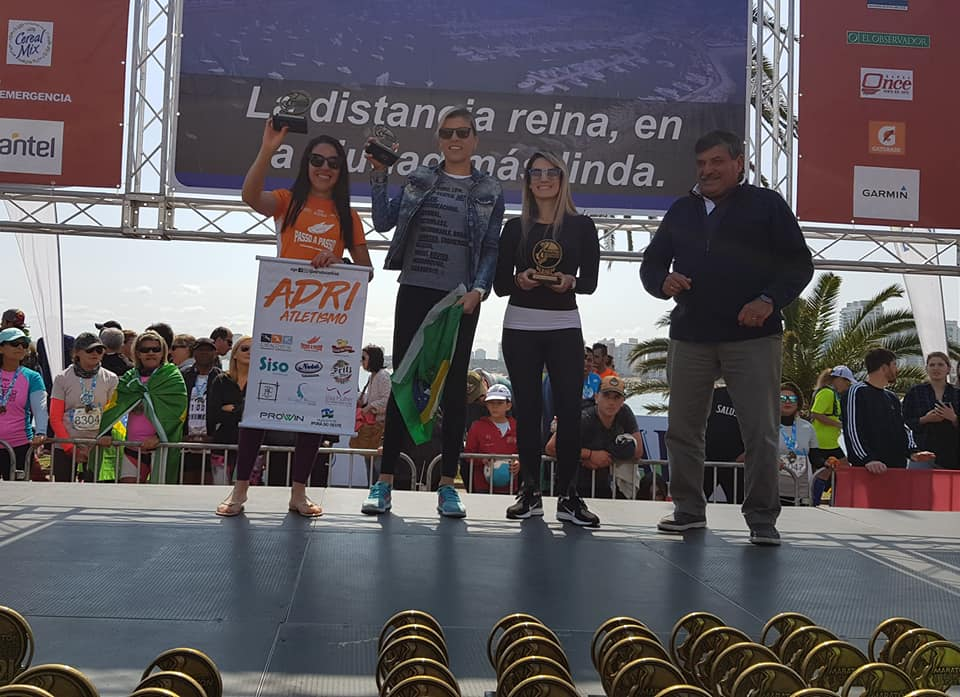 Atleta de Iporã do Oeste participa da Meia Maratona Internacional de Punta Del Este