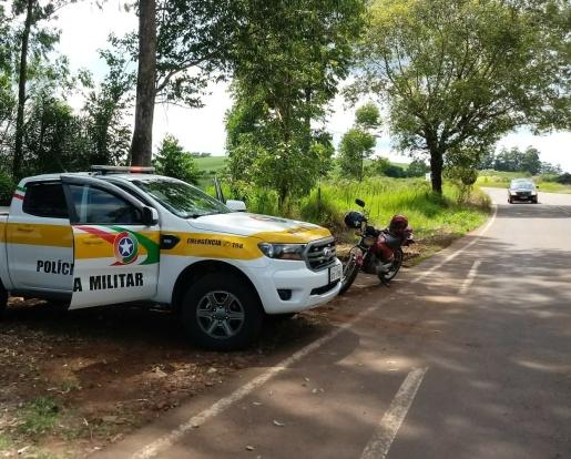Motorista não habilitado é preso por embriaguez na SC 496