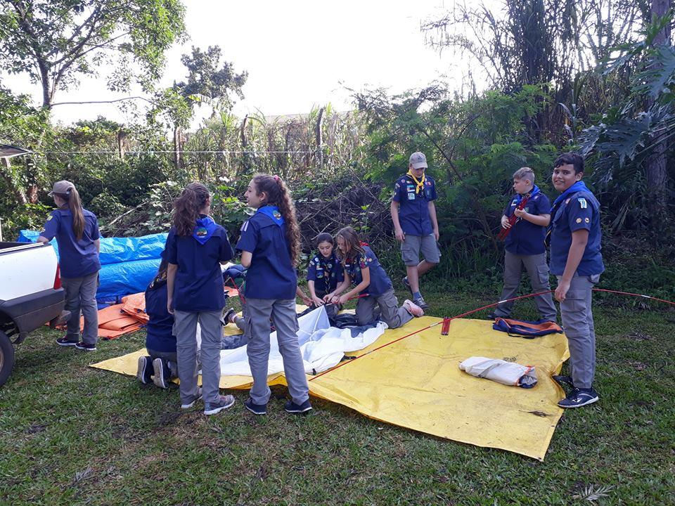 Grupo de Escoteiros de Iporã do Oeste sedia Tropa Escoteira em Ação