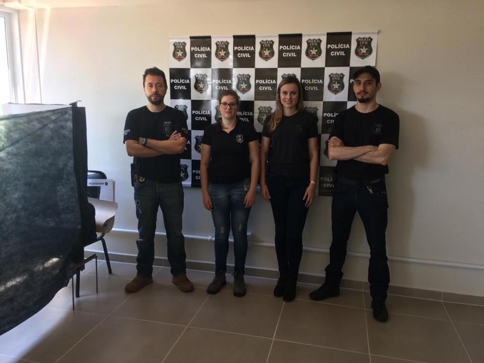 Policia Civil participa da Feira das profissões da Unoesc