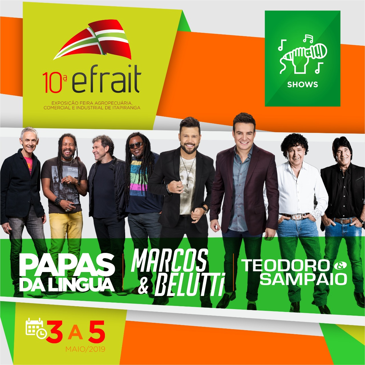 10ª Efrait anuncia shows e abre venda de estandes