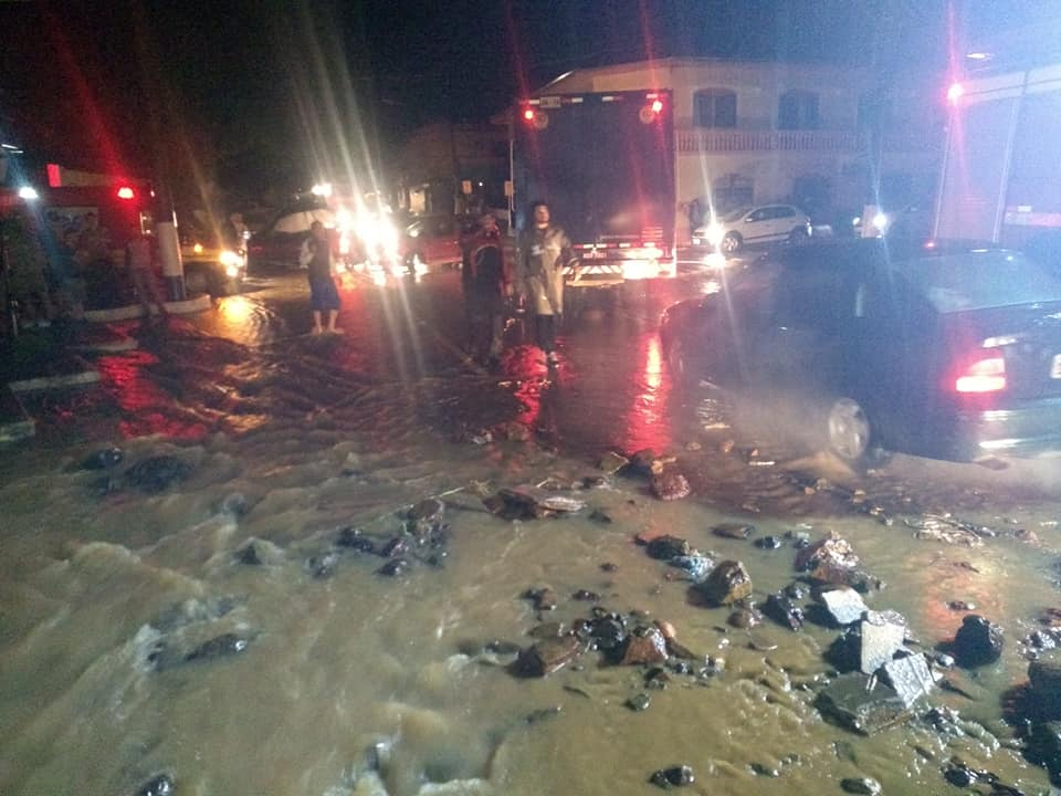 Mulher morre durante temporal no Oeste Catarinense