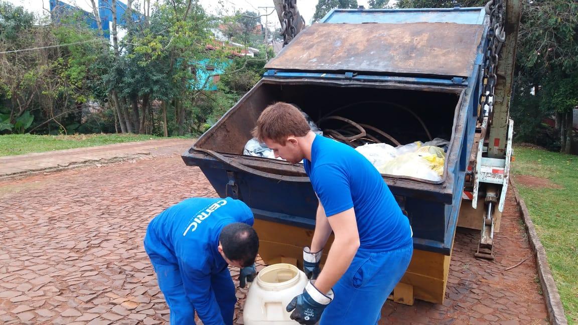 Mais de 70 kg de pilhas e baterias usadas são recolhidas em Iporã do Oeste