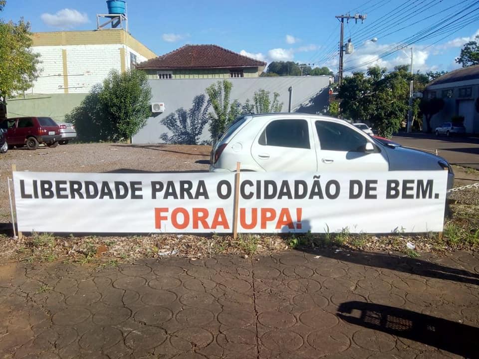 Moradores protestam contra a Unidade Prisional de São José do Cedro