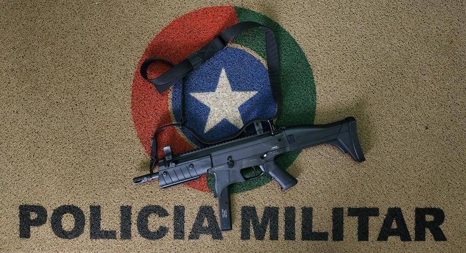 Polícia Militar de Iporã do Oeste recebe novo armamento