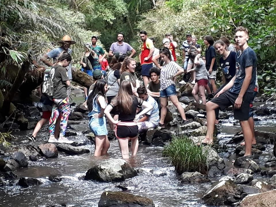 Guarujá do Sul promove o primeiro Acampamento da Juventude