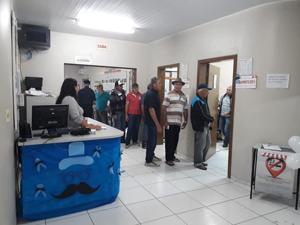 Secretaria de Saúde envolve mais de 300 homens no dia D do Novembro Azul