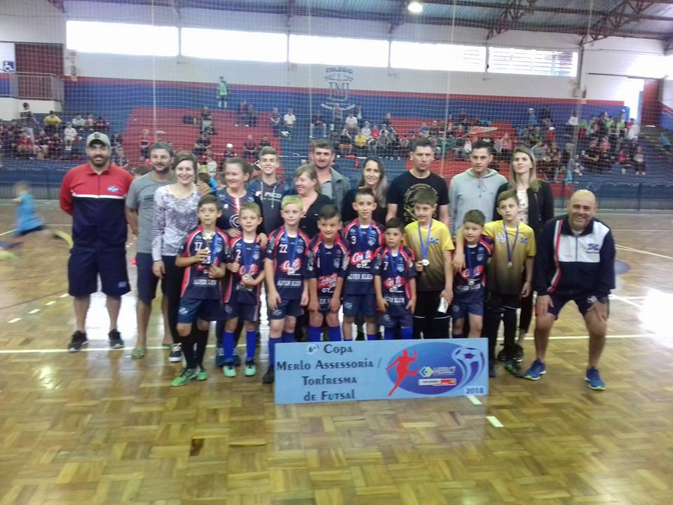 Encerrada 6ª Copa Merlo/Torfresma de futsal
