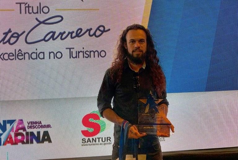 Empresa de Anchieta conquista o 1º lugar em prêmio do destaque do turismo catarinense