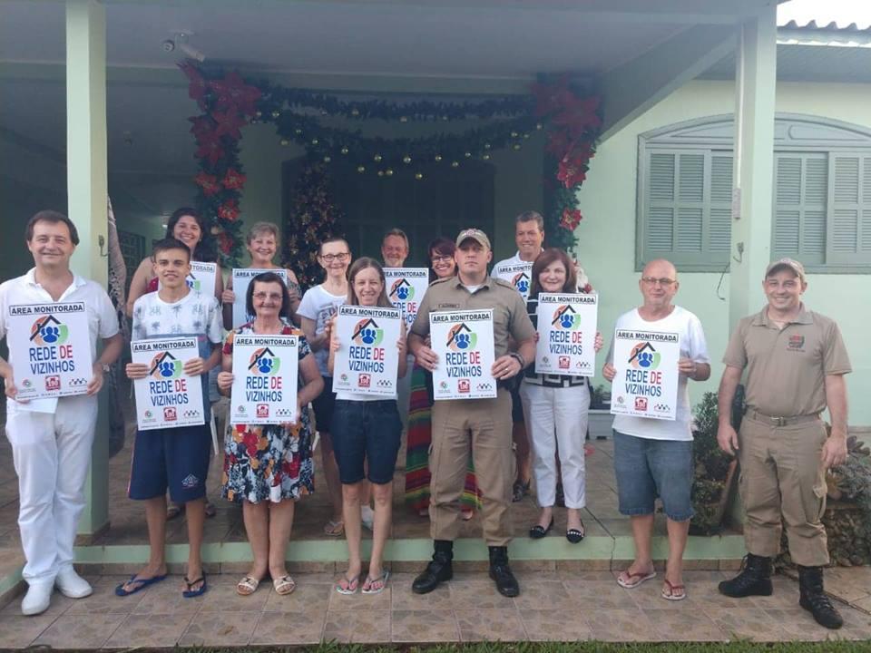 Novo grupo da Rede Vizinhos é formado em São Miguel do Oeste