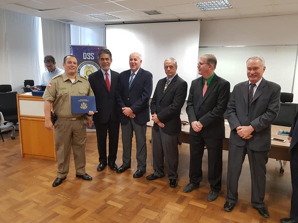 Policiais Militares Participam de Curso de Gerenciamento de Operações de Fronteira